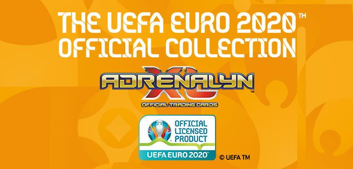 THE UEFA EURO 2020™ OFFICIAL ADRENALYN XL™ TRADING CARDS COLLECTION BY PANINI