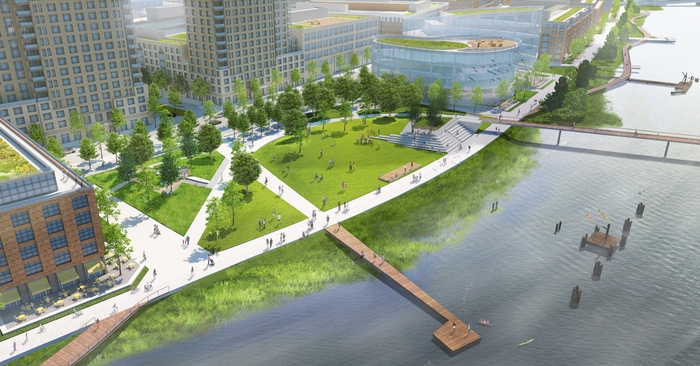 Riverfront East Riverwalk
