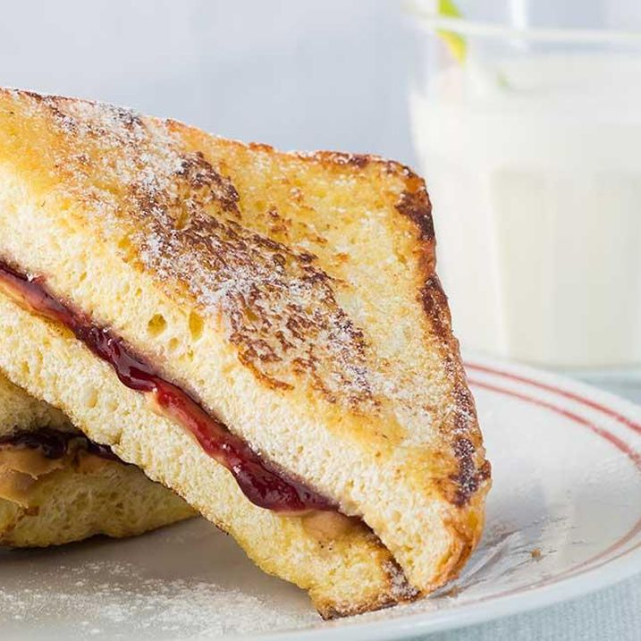Peanut Butter and Jelly Stuffed French Toast