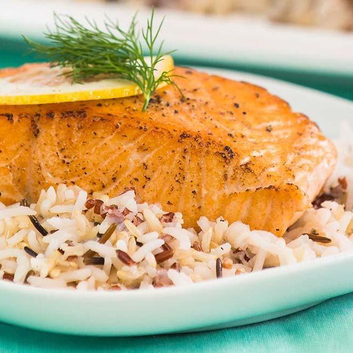 Sweetheart Salmon Filets Recipe