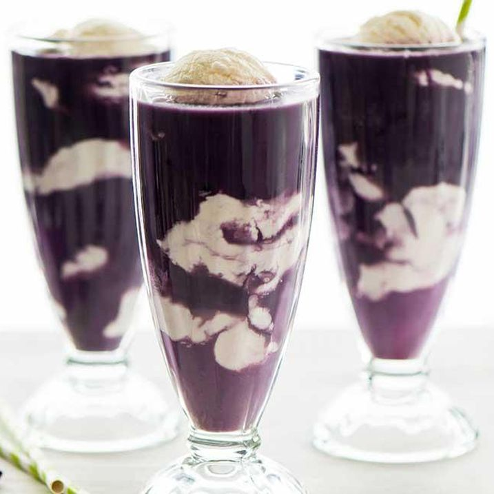 Purple Cow Ice Cream Float