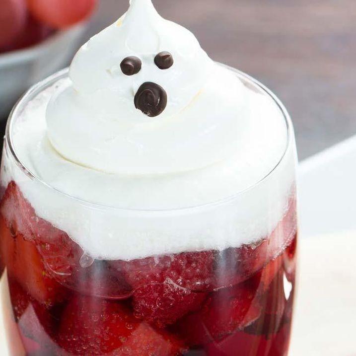 Sparkling Ghost Dessert Cups