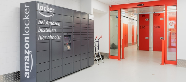 Amazon Locker bei XXLAGER in Berlin