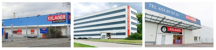 XXLAGER Gebäude in Berlin-Steglitz, Berlin-Köpenick und Berlin-Wittenau