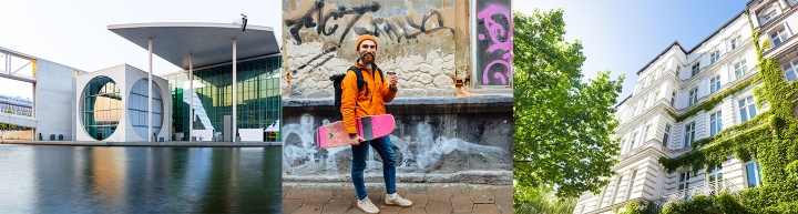 Impressionen der deutschen Hauptstadt Berlin