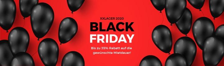 Black Friday XXLAGER Selfstorage Rabatt