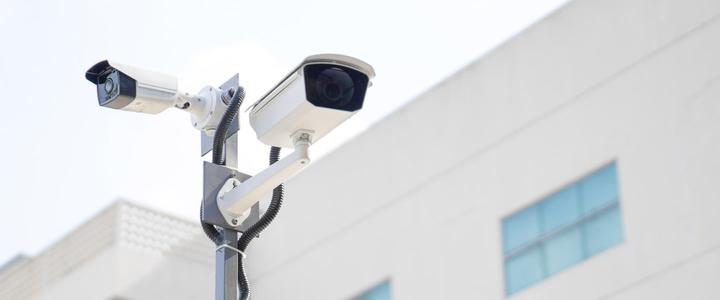 Kameraüberwachung für Selfstorage