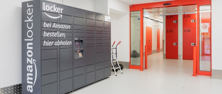 Amazon Locker bei XXLAGER Selfstorage