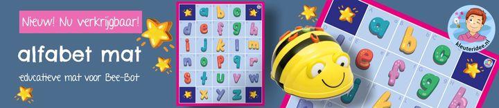 banner alfabet Bee-Bot mat