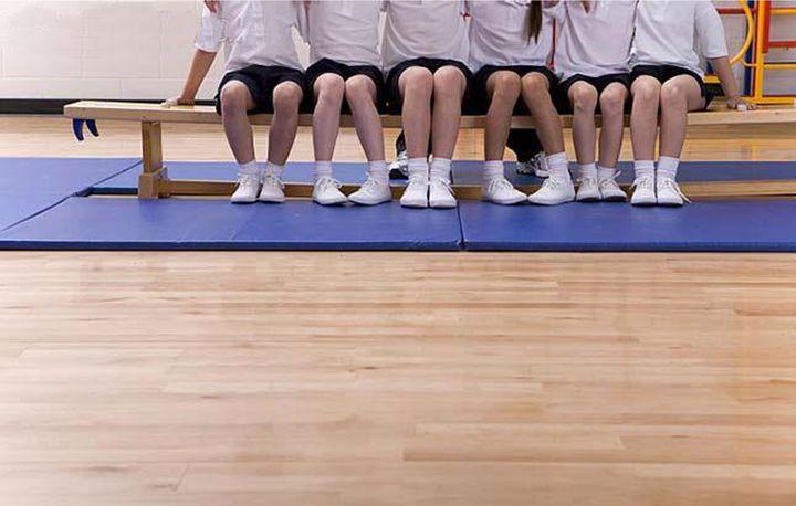 Gymles met banken 6 voor kleuters