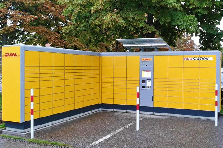 KePol parcel locker @Germany