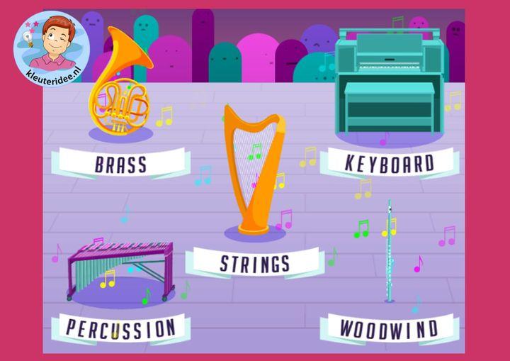 Online muziek maken kleuters online. kleuteridee
