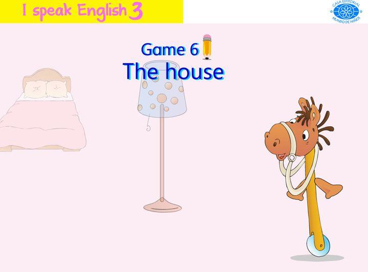 Engels leren aan kleuters , the house , kleuteridee.nl