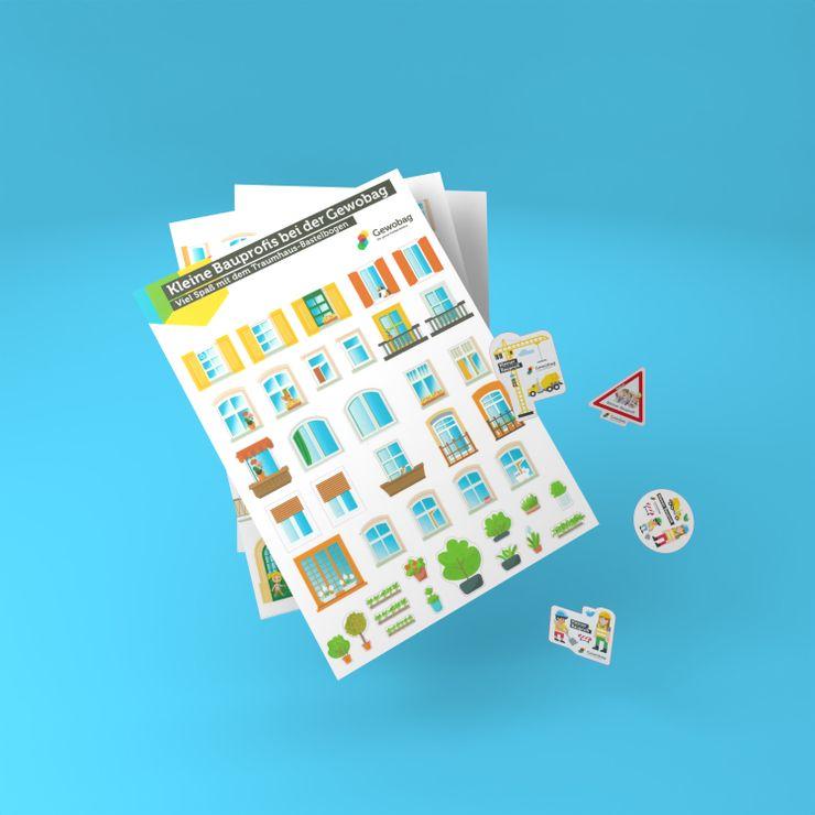 GEWOBAG 3D Sticker