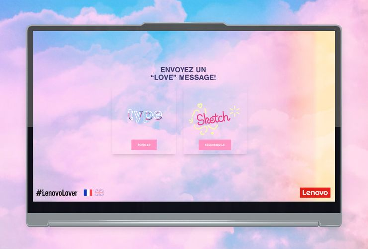 Taylor Swift - Messages Of Love Screen-Design