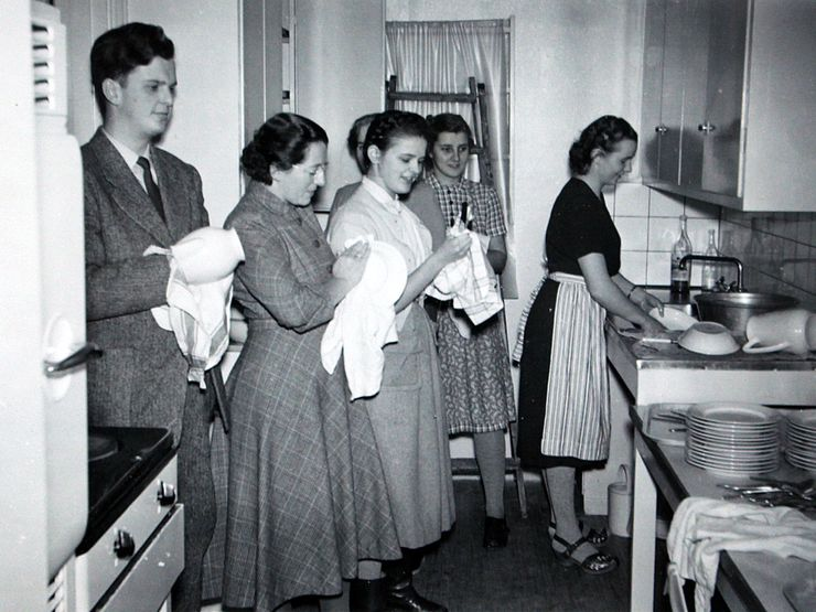 Liljeholmen 50-tal diskning
