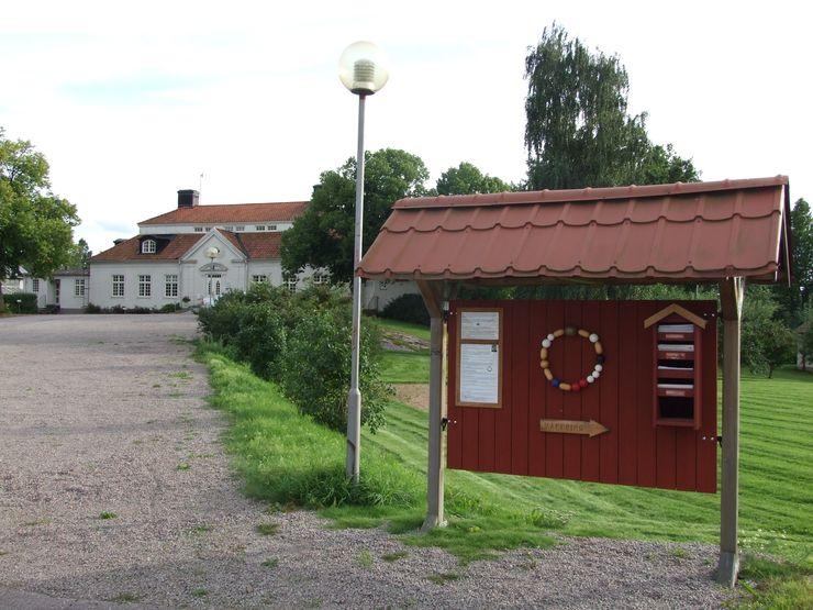 Liljeholmens frälsarkransvandring välkomsttavla