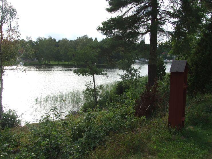 Liljeholmens frälsarkransvandring mot vattnet