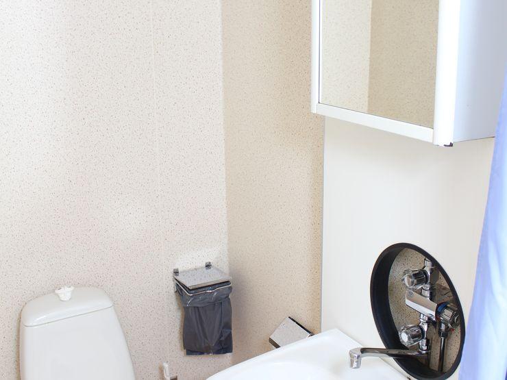 Evagården toalett med Stockholmsdusch