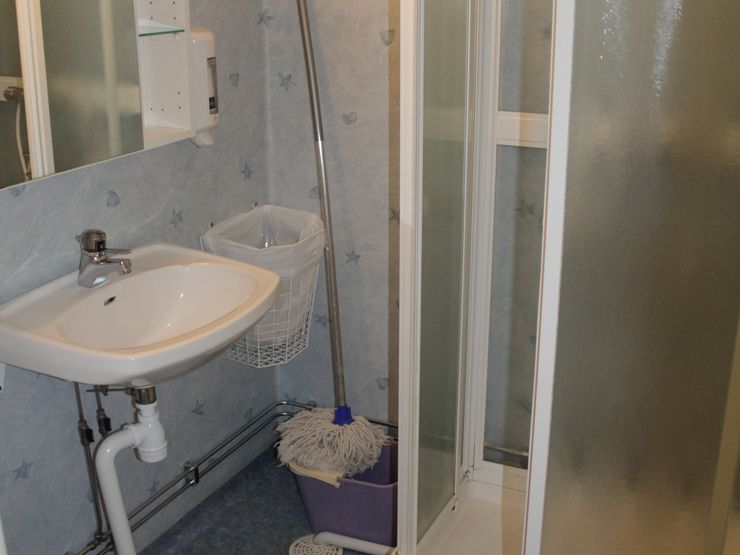 Evagården lägenhet wc