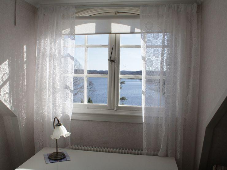 Utsikt fönster Liljeholmen Herrgård