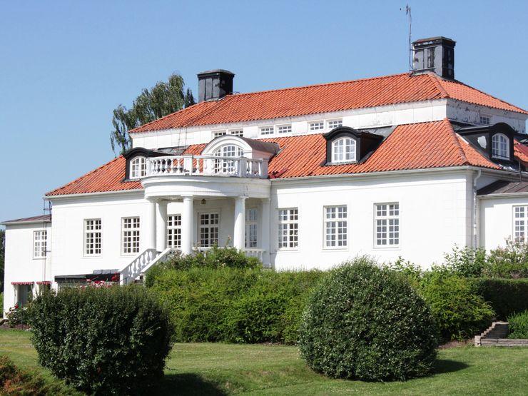 Liljeholmen herrgård pampig byggnad baksida