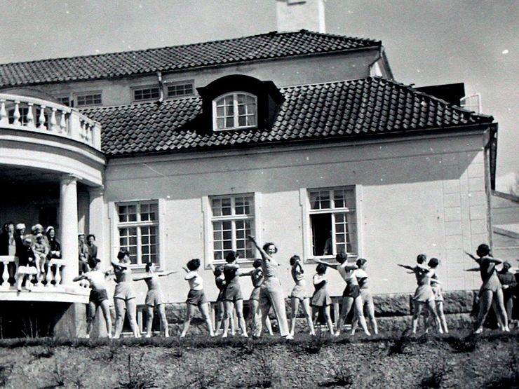 Liljeholmen 50-tal gymnastik