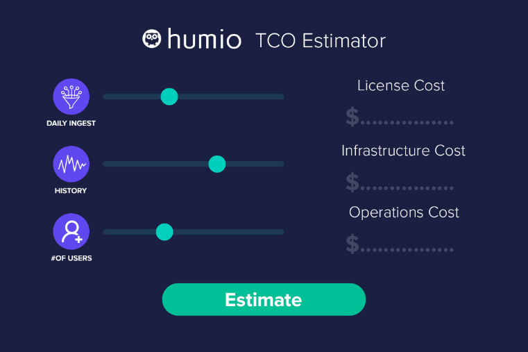 Looking at open source? Humio is cheaper than free.