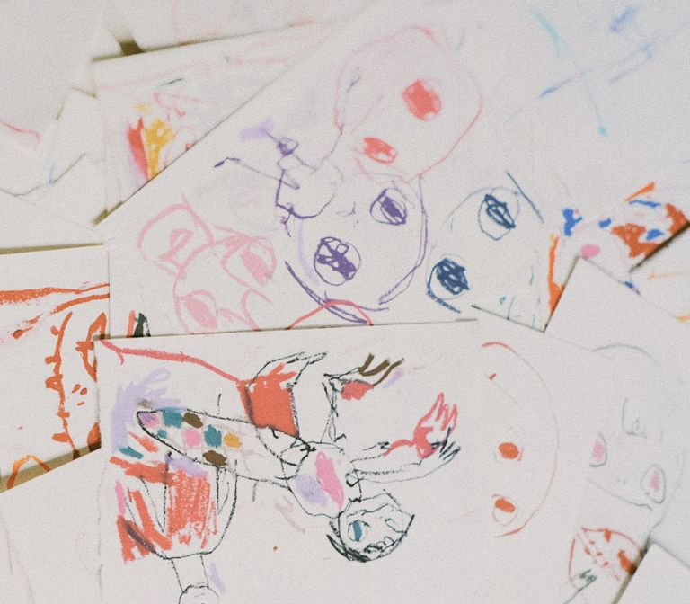 Collection of works on paper by Roby Dwi Antono - close up