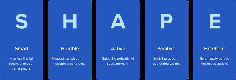 Apply Digital's Shape Values