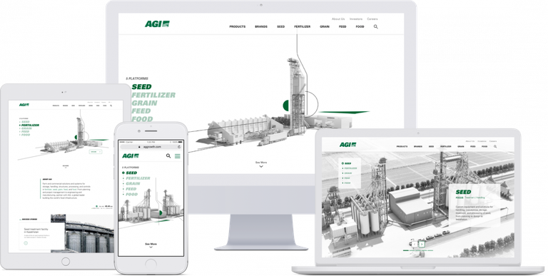 AGI Website on Electronic Devices