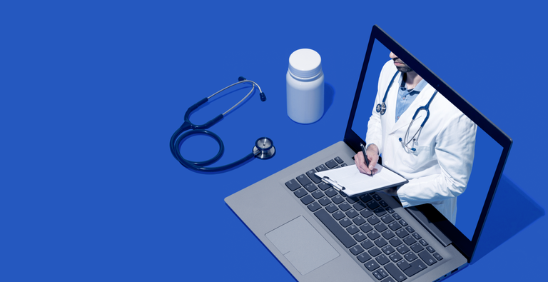 Computer with a virtual doctor