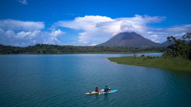 Lake Arenal Kayak, Costa Rica