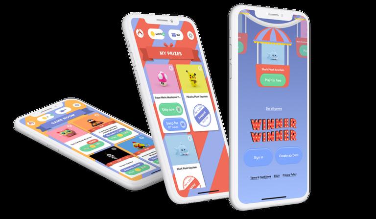 Winner Winner App on Phone