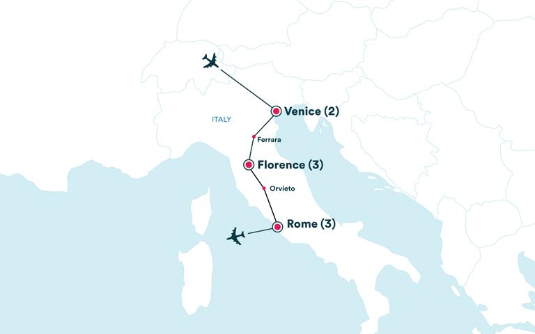 Italy Tours W Flights Ef Ultimate Break