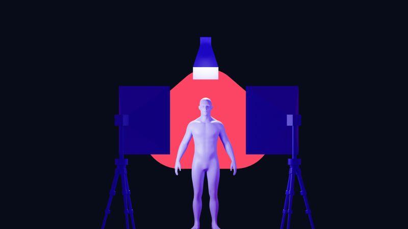 Drei-Punkt-Beleuchtung Tutorial