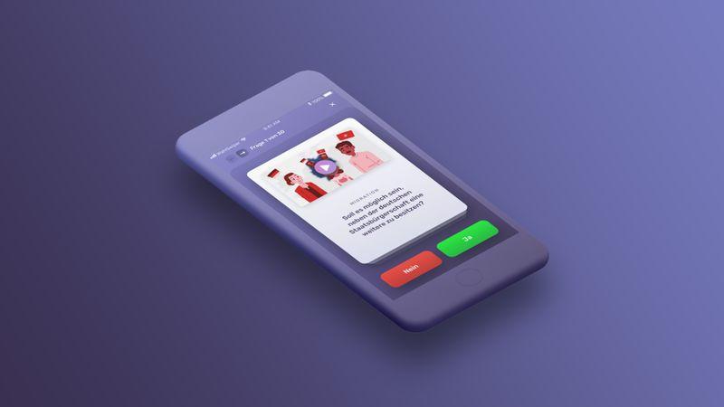 WahlSwiper: App jetzt auch im Web-Browser verfügbar