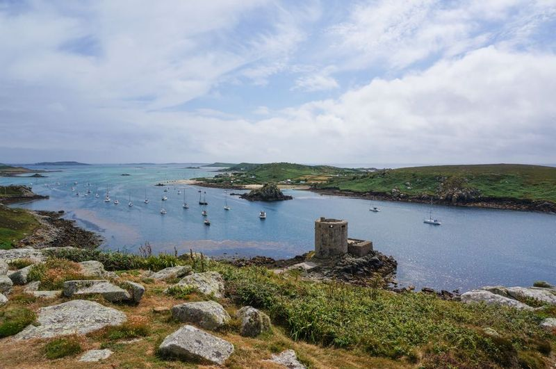 Cromwell's Castle in the Isles of Scilly