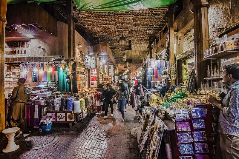 The Spice Souk in Deira, Dubai