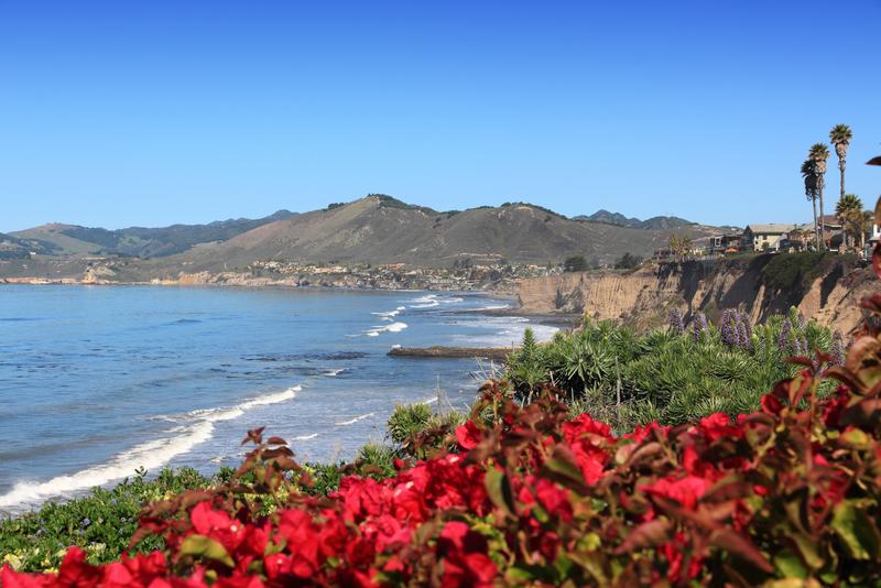 Shell Beach in Pismo Beach township, San Luis Obispo county