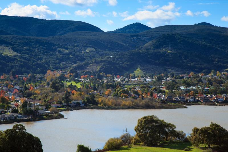 View of rural San Luis Obispo