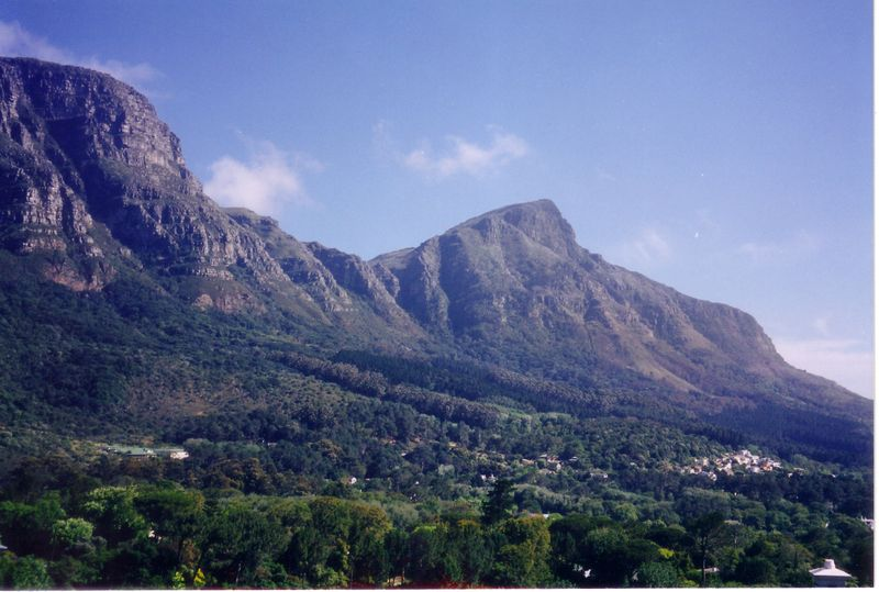 Newlands has beautiful views of Table Mountain