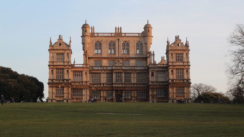Wollaton Hall, one of the filming locations in Batman:The Dark Knight Rises