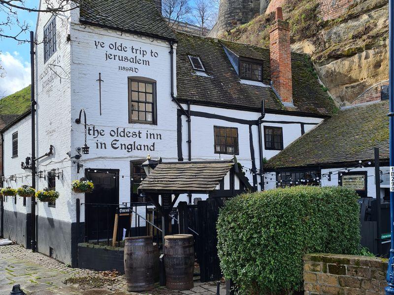 The oldest inn in England