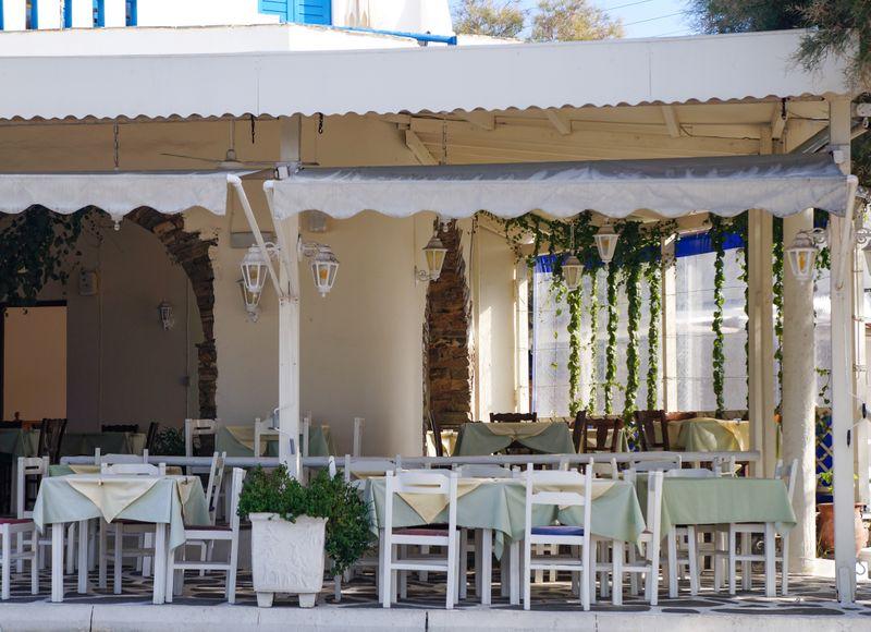 A taverna in Naxos