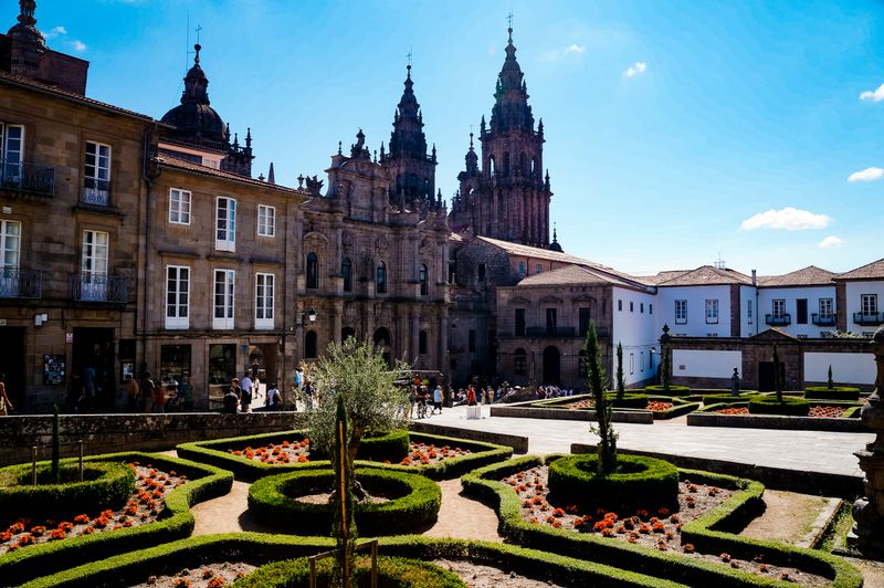 Cathedral Square in Santiago de Compostela