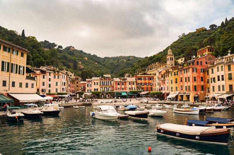 A moody day in Portofino, Italy