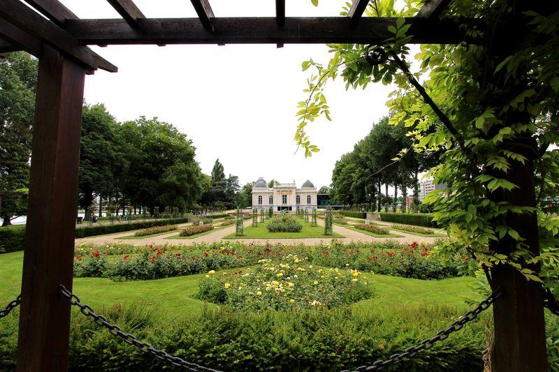Parc de la Bouverie in Liege, Belgium