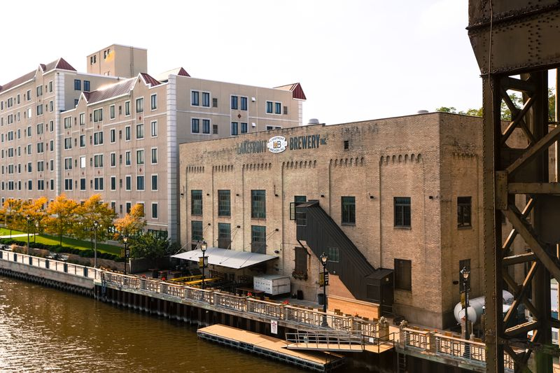 Lakefront Brewery In Milwaukee,WI