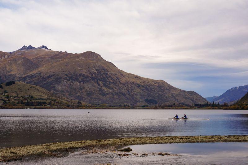 Kayaking on Lake Hayes